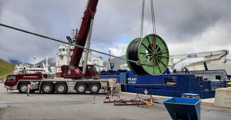 Faroe Islands' longest sea cable for aquaculture installed